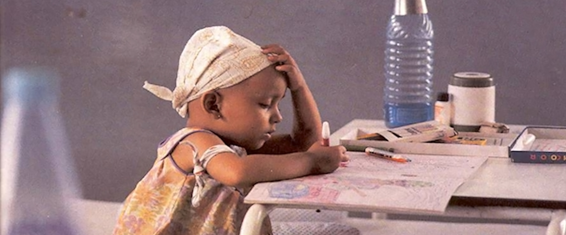 Girl Child Cancer Patient