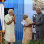 PM Modi with Dr. Shanta