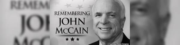 Tribute to Senator McCain